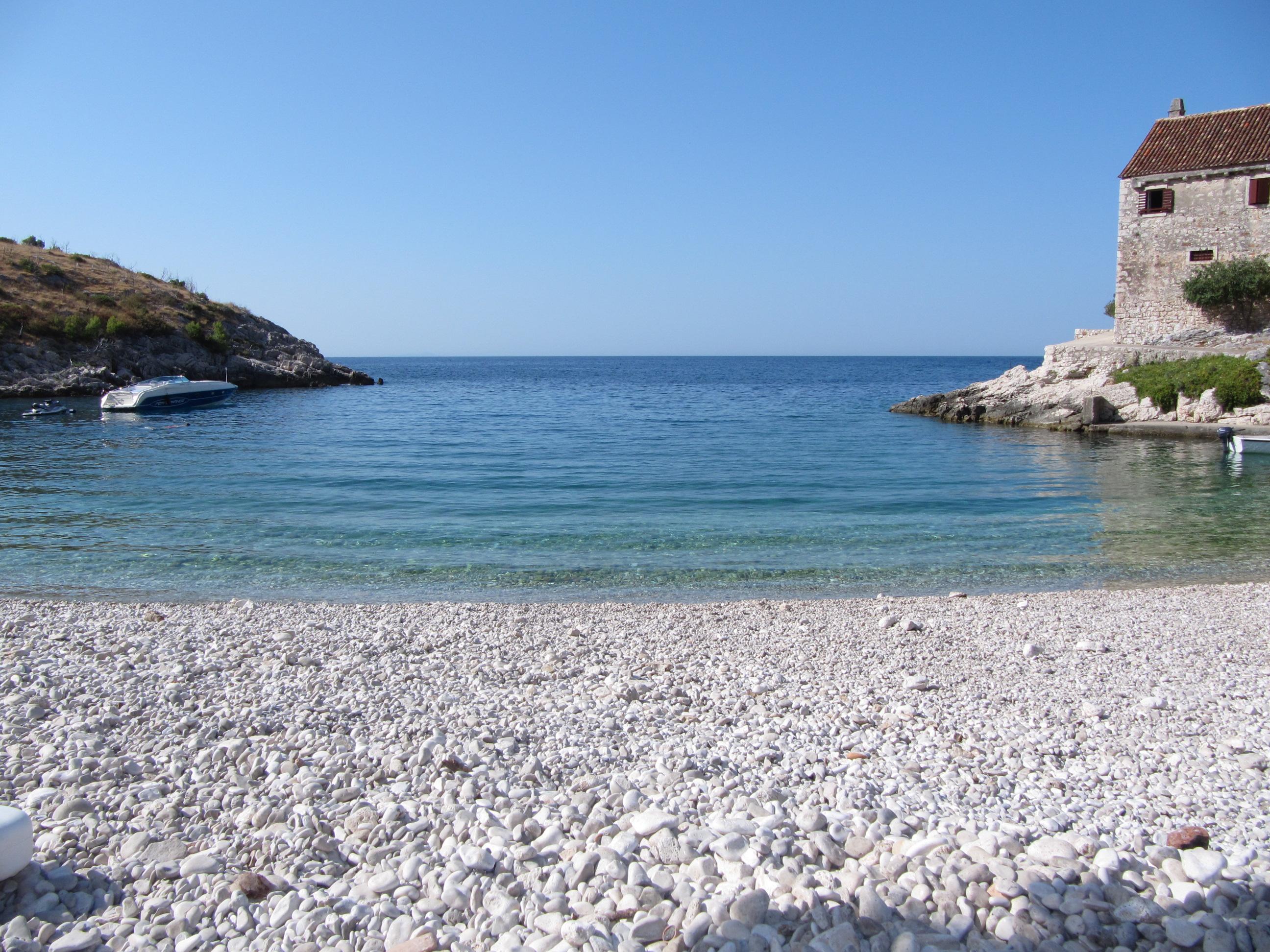 plaža dubovica - otok Hvar