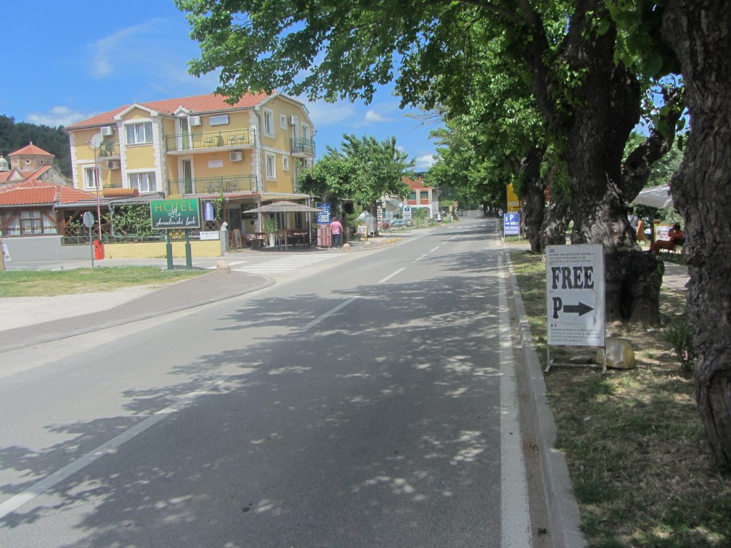 brezplačno parkiranje v Skradinu