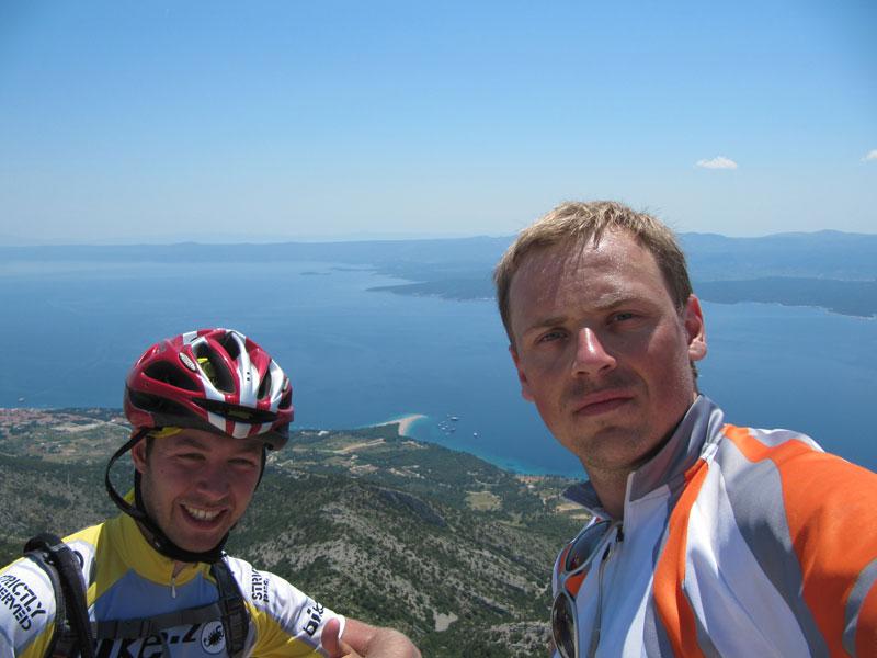 kolesarsko potovanje po dalmaciji