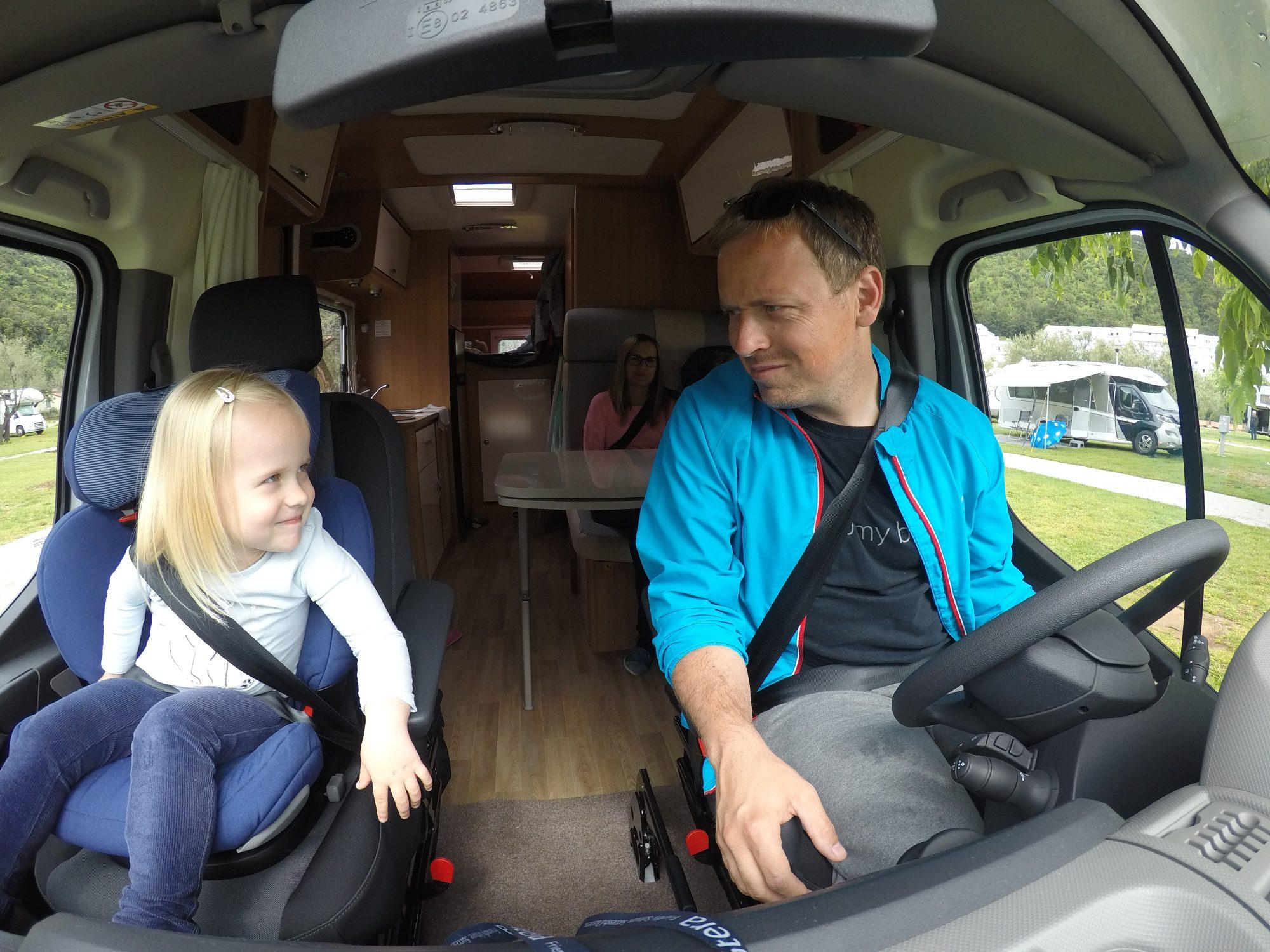 po istri z avtodomom