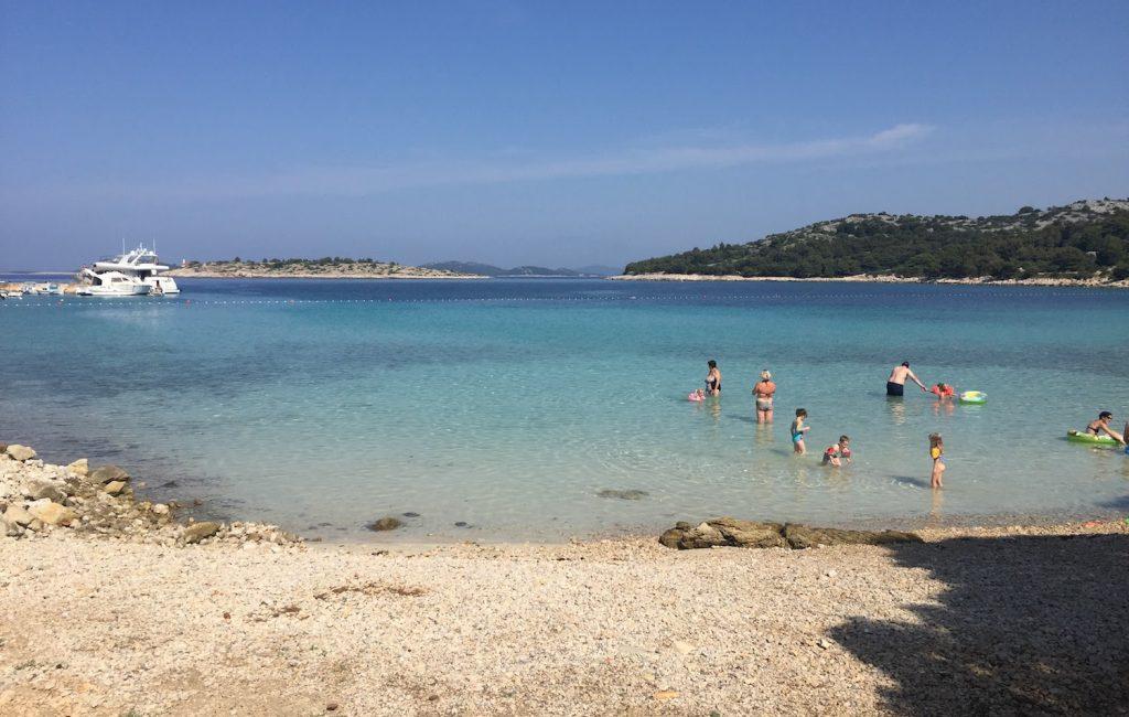 Plaža Podvrške je najlepša plaža na otoku Murter