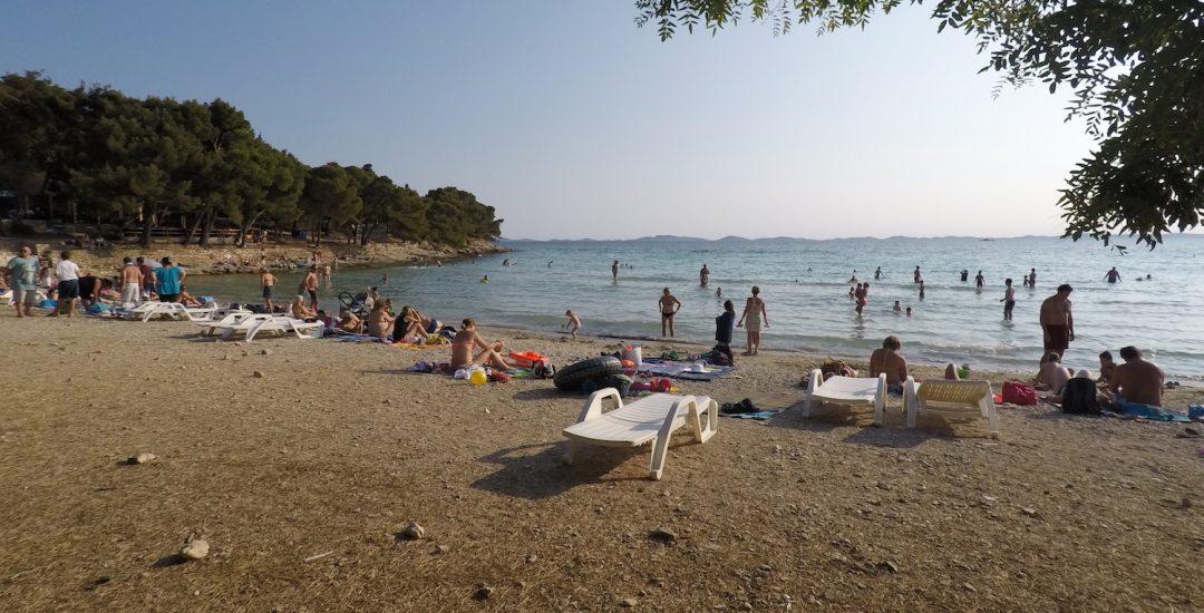 Plaža Slanica na otoku Murter