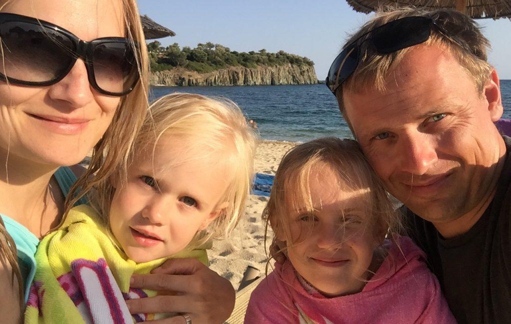 Uživanje v kampu Stavros, popoldan selitev na Azapiko beach (5. dan)