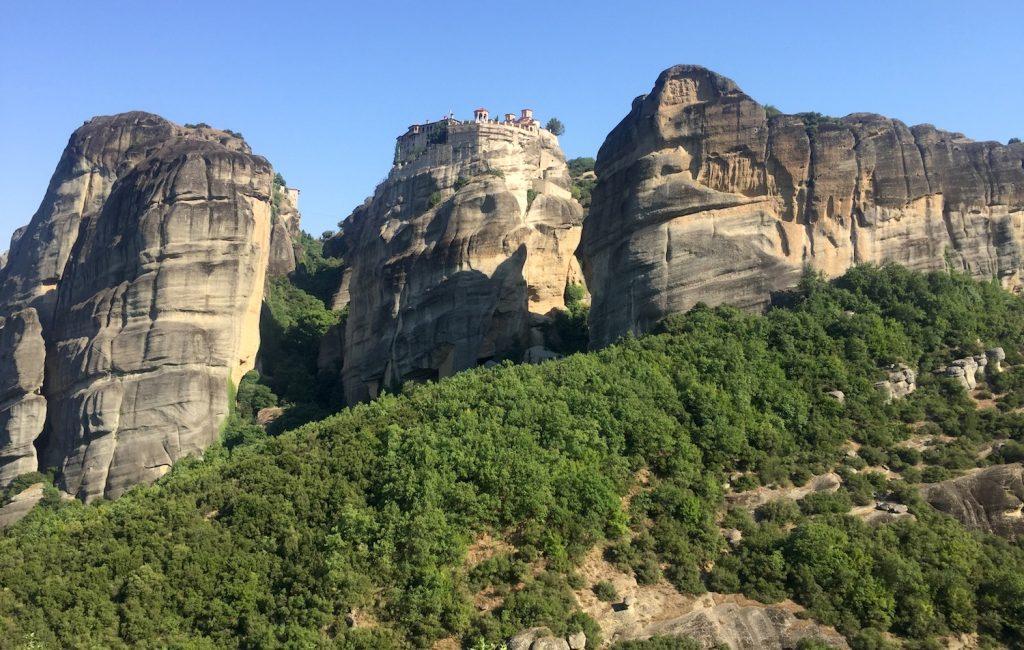 Meteora – znamenite skale na katerih so zgrajeni samostani (7. dan)