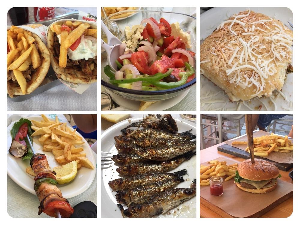 hrana v grčiji