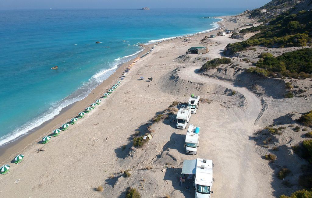 Plaža Gialos – Lefkada (7. in 8. dan)