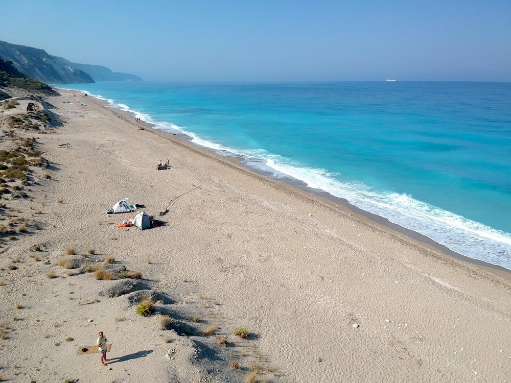plaža gialos Lefkada