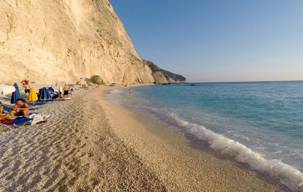 Prenočitev ob plaži Porto Katsiki – Lefkada (8. dan)