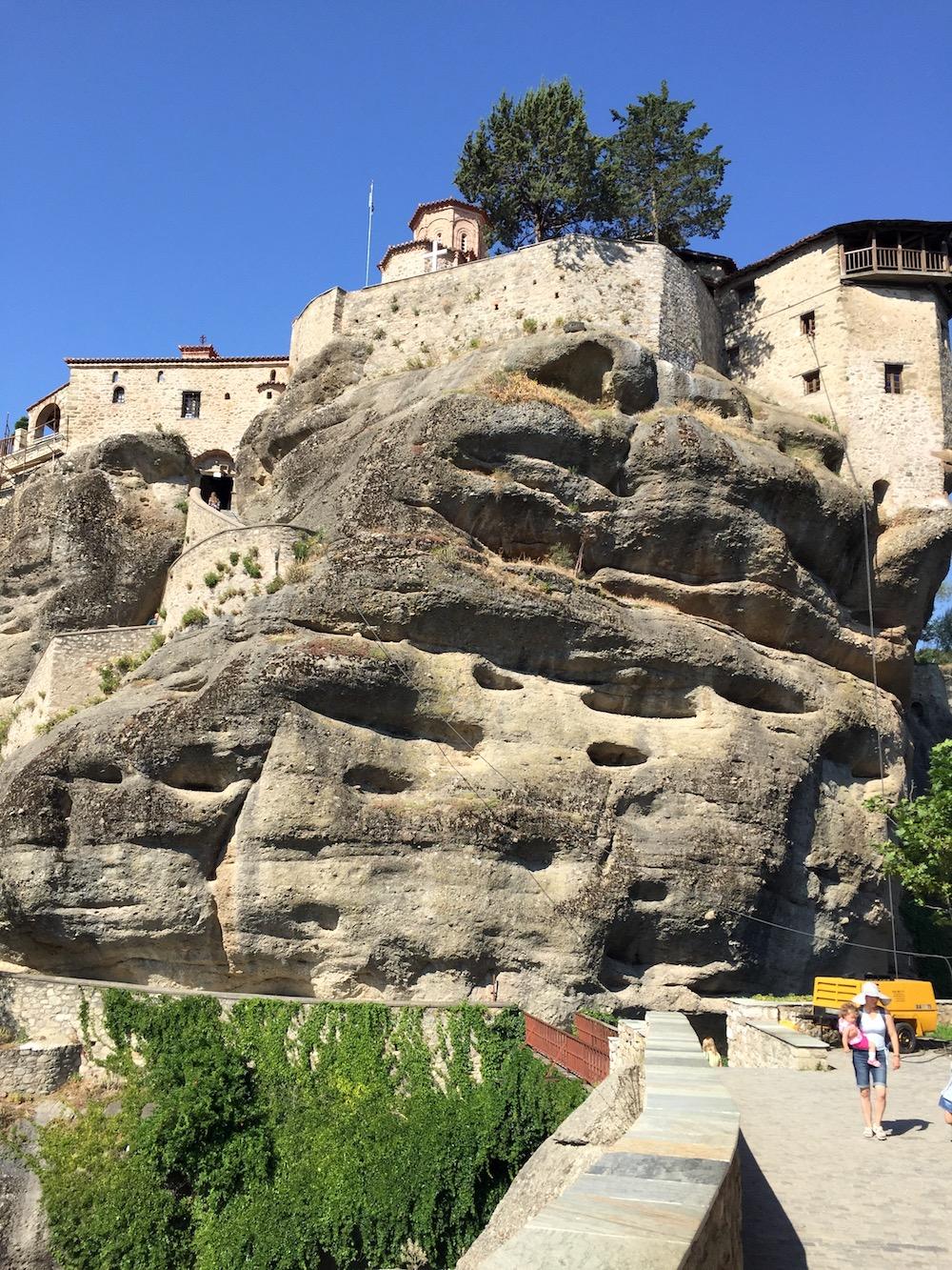 ogled samostanov meteora