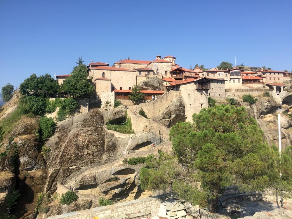 meteora - ogled samostanov
