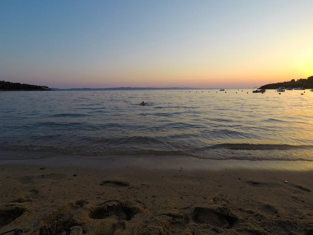 sončni zahod Grčija