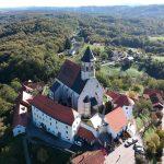 Ptujska Gora – cerkev Marije Zavetnice s plaščem