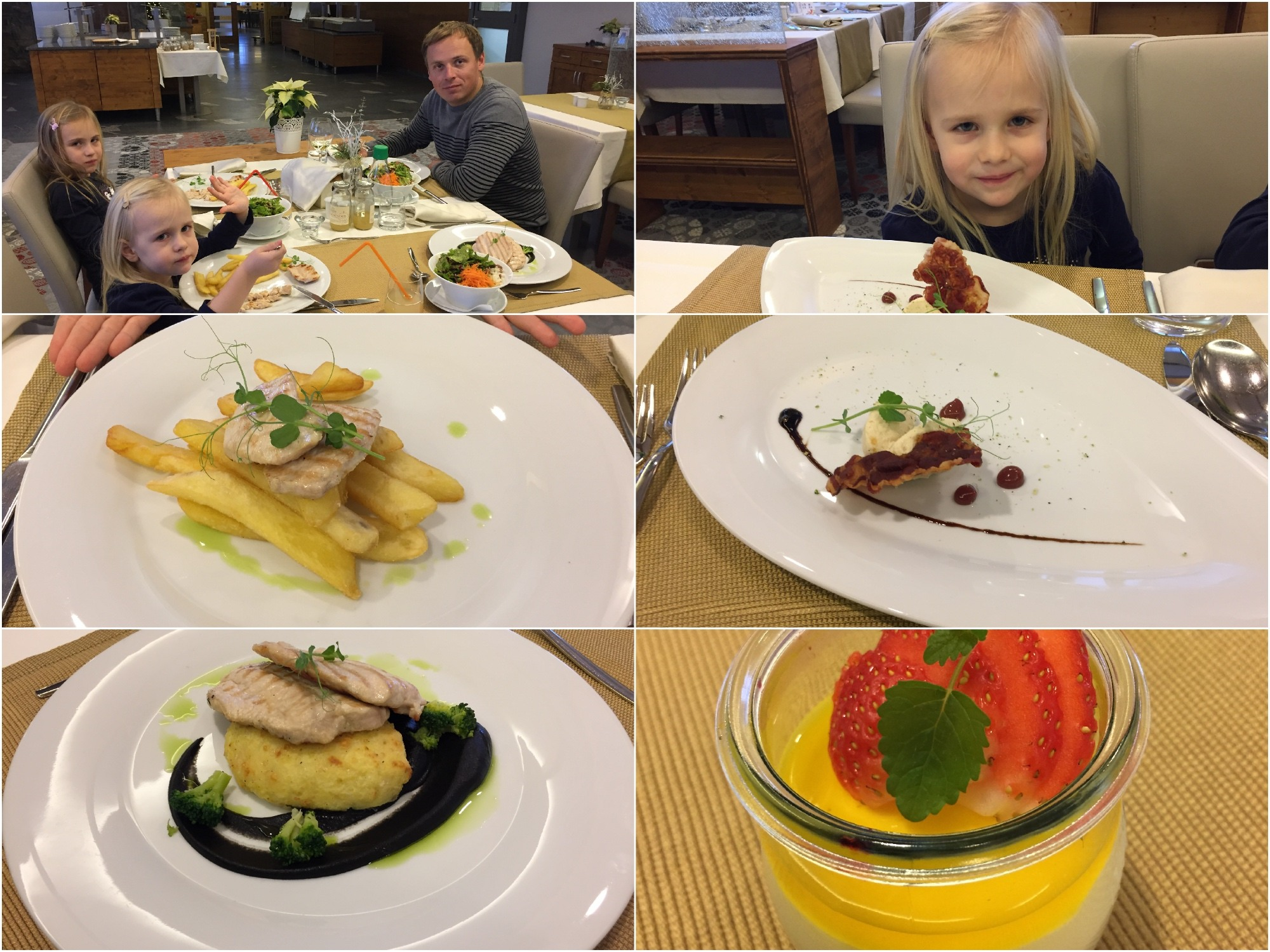 hrana v hotelu natura