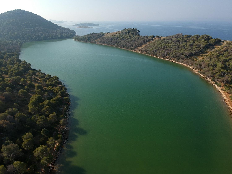 jezero mir nacionalni park telašćica