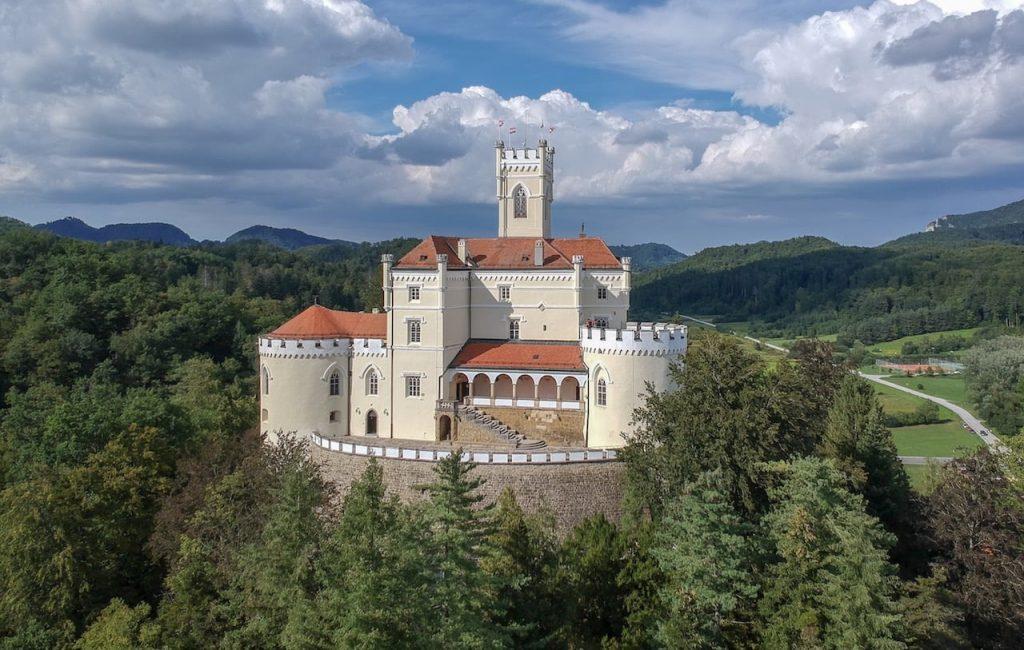 grad dvorec trakošćan