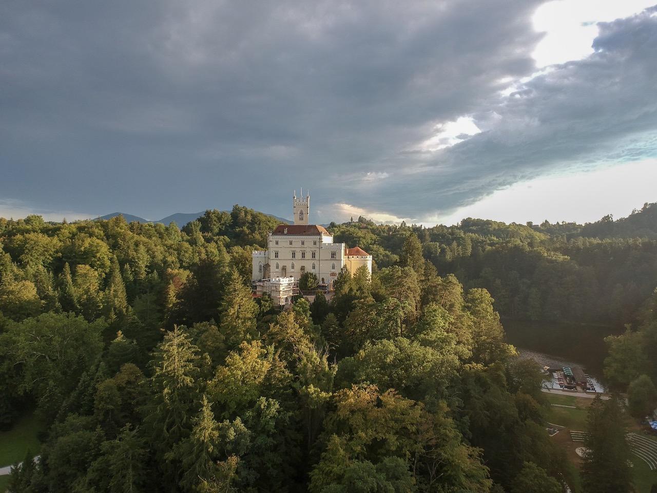 grad dvorec trakoščan