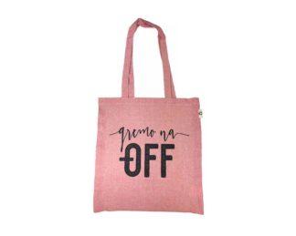 eko vrecka roza barve - Gremo na OFF
