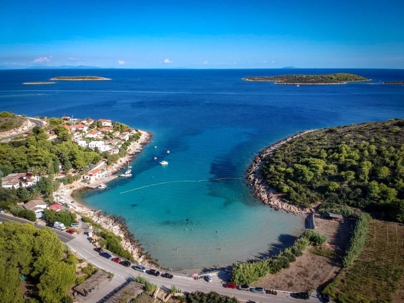 Milna - otok Vis