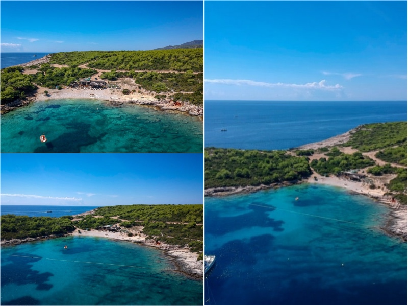 Tepluš, Diamon Beach - otok Vis