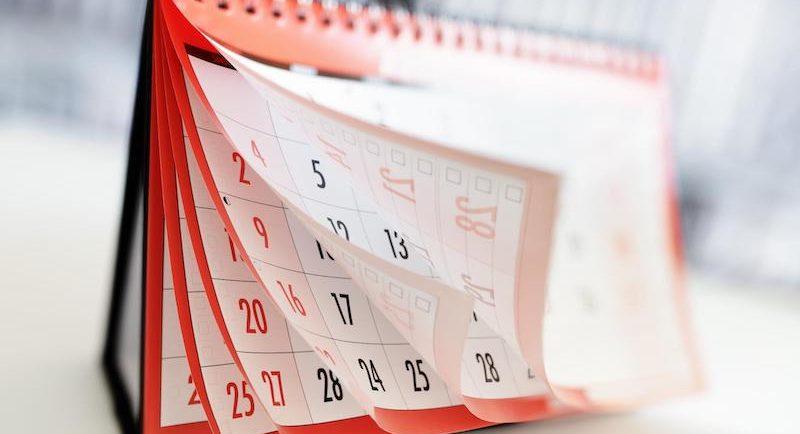 državni prazniki in dela prosti dnevi