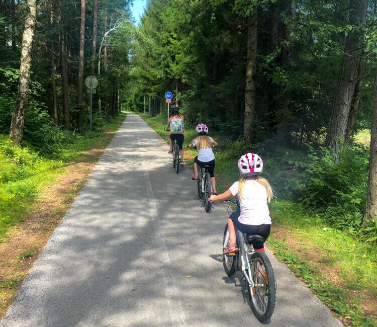 kolesarjenje kamp špik